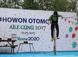 İzmir Tek Teker Bisiklet Gösterisi