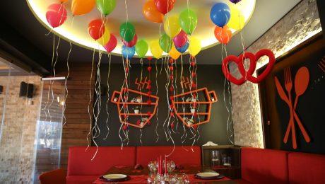 Uçan Balon Süsleme